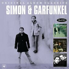 Simon & Garfunkel-ORIGINAL ALBUM CLASSICS 3 CD NUOVO