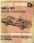 MORRIS OXFORD V VI MG MAGNETTE III IV WOLSELEY 15/60 16/60 1959- WORKSHOP MANUAL