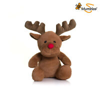 Brown Reindeer- Red Nose and Contrast Horns