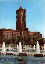 BERLIN Ost DDR Ansichtskarte Gebäude Rathaus Bauwerk Town Hall postcard color