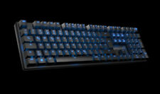 ROCCAT Suora USB Schwarz - Tastatur - Schwarz, Blau, Braun (ROC-12-200)