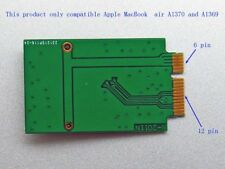 Adaptateur M.2 NGFF SSD pour APPLE AIR A1369 A1370  2011 2010   6 + 12 PIN