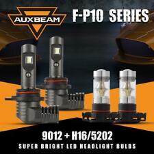 AUXBEAM 9012 5202 for GMC Sierra 1500 2500 3500 HD Hi&Lo LED Headlight Fog Lamps