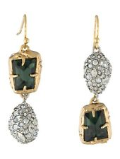 BIN Alexis Bittar Mismatched Stone and Pave Pod Wire Drop Earrings Jewelry