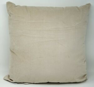 Martha Stewart Collection 18-Inch Decorative Throw Bed Pillow - Beige