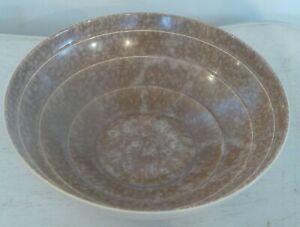 1940's Art Deco Style Marble Effect Terraced Bowl 29 cm x 9 cm