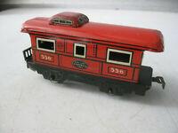 Vintage Marx New York Central Caboose Tin  Railcar