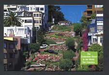 Dated 1988 View of Lombard Street -Crookedest Street in the World, San Francisco