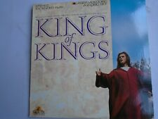 KING OF KINGS LASERDISC 2 discs NTSC 1961
