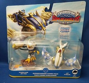 Skylanders Super Chargers Combo Pack - Hurricane Jet-Vac & Jet Stream SALE