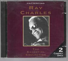 2 CD COMPIL 35 TITRES--RAY CHARLES--THE ESSENTIAL COLLECTION