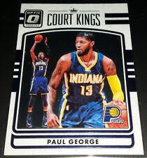 Paul George 2016-17 Donruss Optic COURT KINGS Insert Card