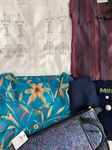 Lote ropa señora mujer primavera verano tallas grandes 50/52 XL/2XL usada