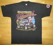Vintage BILLY THE KID PAUCH Sprint Car SCREEN STARS Black 50/50 Shirt - Adult Lg