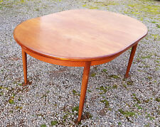 1960s 1970s extender kitchen dining table - teak  g plan - vintage retro antique