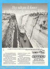 QUATTROR984-PUBBLICITA'/ADVERTISING-1984- EFFER GRU OLEODINAMICHE (versione B)