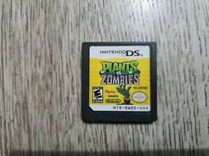 Plants vs Zombies (Cartridge Only) - Nintendo DS - Free Shipping!!