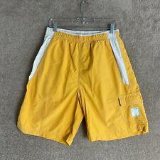 American Eagle Swim Shorts Mens Size Medium Yellow Custom Crafted Surf Gear