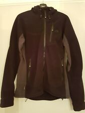 Ladies MOUNTAIN EQUIPMENT ARCHANGEL FLEECE JACKET BLACK SIZE 12