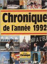 Collectif - Chronique de l'année.... : Chronique de l'année 1992 - 1998 - relié