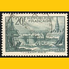 TIMBRE POSTE FRANCE 1938 N° 394 OBLITERE - SAINT-MALO