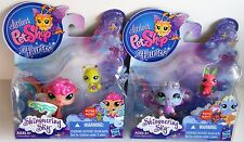 Littlest Pet Shop Fairies Shimmering Sky Sea Breeze and Morning Haze and Friends