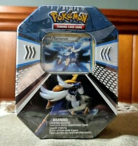 Pokemon Samurott Evolved Battle Action Fall Tin (2011) - Vintage Booster Packs