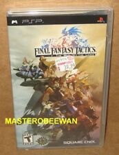 Final Fantasy Tactics The War of the Lions Sony PSP, 2007 Black Label New Sealed