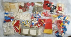 VINTAGE 1960's LEGO JOB LOT - APPROX 1.9 KG OF MIXED BRICKS Etc LARGE COLLECTION