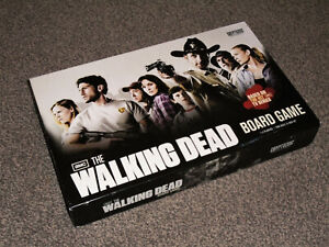 THE WALKING DEAD BOARD GAME : OFFICIAL TV SERIES EDITION IN VGC (FREE UK P&P)