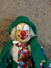 Vintage porcelain clown doll