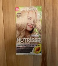 Garnier Nutrisse Ultra Color Blondes, LB1 Ultra Light Cool Blonde 1 Application