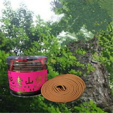 Natural Sandalwood Rose Lavender Jasmine (4 Hour) Incense Spiral Coils Incense