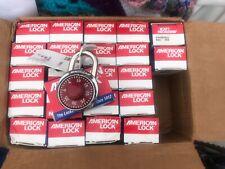 American Lock combination lock