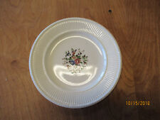 "Wedgwood England Edme CONWAY Set of 2 Salad Plates 8 1/8"" Floral Ctr"