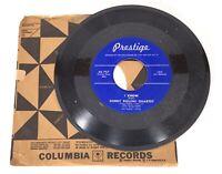 SONNY ROLLINS / SONNY STITT - I Know/ Liza - 45 Jazz - PRESTIGE - (Miles Davis)