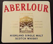 Aberlour scotch whisky sticker / decal