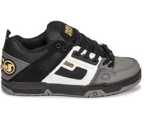 DVS F0000029992 Comanche Mn`s (M) Black/White/Charcoal Nubuck Skate Shoes