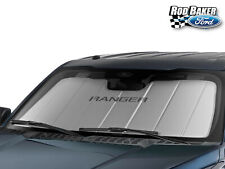 Sun Shade Heat Shield Screen w/ Ranger Logo & Storage Bag fits 2019 Ford Ranger