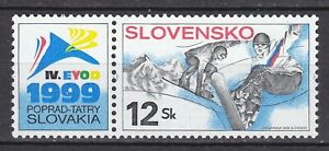 SLOVAKIA 1999 **MNH SC# 319 World Winter Universiad Games,European Youth Olympic