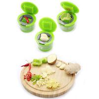 Fanshionable Knoblauchpresse Chopper Slicer Hand Presser Grinder Crusher KücheW-