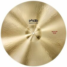"Paiste 1041720 Formula 602 Classic Sounds 20"" Medium Ride Cymbal W/ Long Sustain"