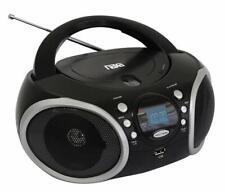Naxa NPB-276 Portable MP3/CD Player with AM/FM Analog Radio & USB Input