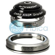 New Chris King Dropset 3 Ceramic integrated Tapered Headset 41mm 52mm Black