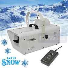 QTX sw-2 Artificial 1200W Máquina De Nieve Fiesta Navidad Espuma EFECTO FLAKE