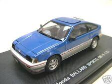 EBBRO HONDA BALLADE CR-X 1.5 I 1983 RHD Blu, 1:43