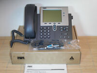 NEU Cisco CP-7941G 7941 voice and IP Telefon VoIP Phone NEW OPEN BOX