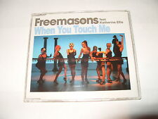FREEMASONS FEAT KATHERINE ELLIS-WHEN YOU TOUCH ME-4 TRACK CD SINGLE-2008