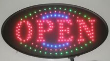 Ultra Bright Animated Led Neon Light Open Sign Oval Led Sign S161
