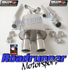 Milltek Mini Cooper S R58 Full Exhaust System Non Res & De Cat Downpipe GT80